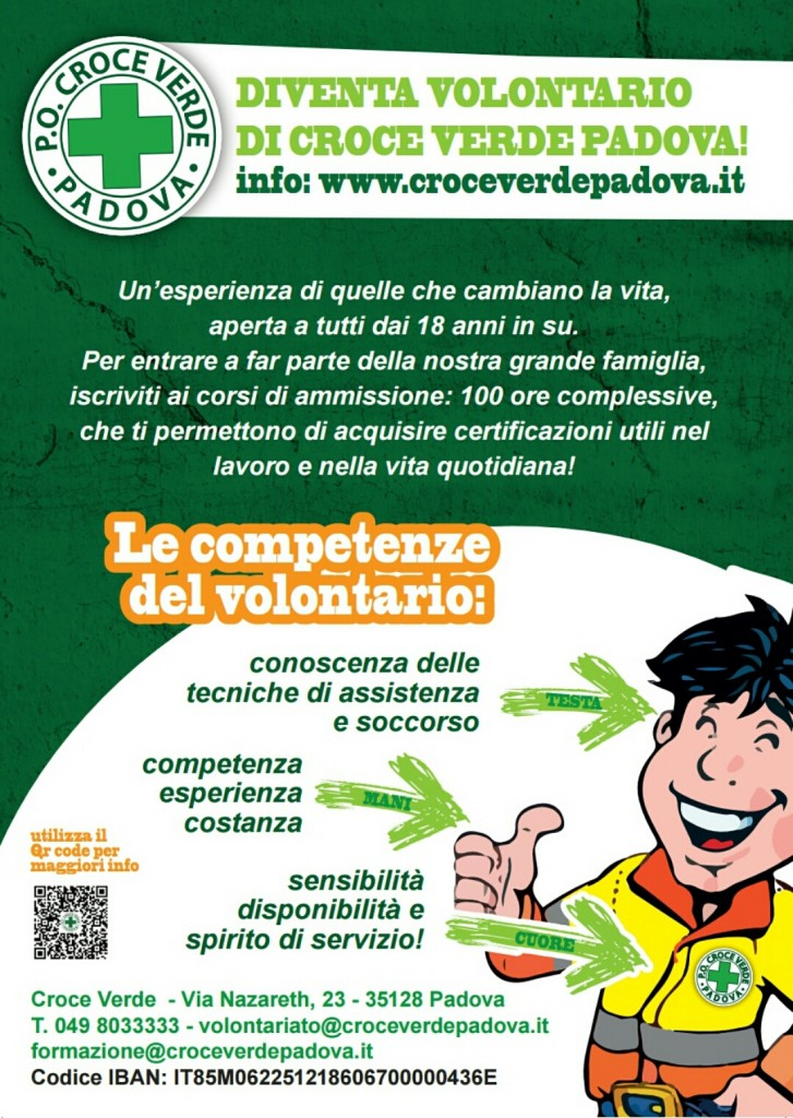 Campagna Volontariato Croce Verde 2017