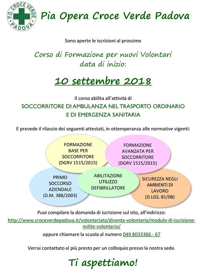 Corso 10 settembre Croce Verde